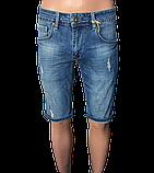 Шорты джинсоые мужские fb 17-335, фото 3