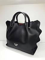 Женская брендовая сумка Guess Гесс цвет черный