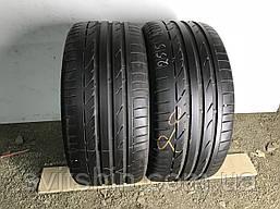 Шины бу лето 255/40R18 Bridgestone Potenza S001 RFT 2шт 6мм