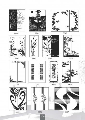 Шкафы купе под заказ, художественная обработка в матовый дизайн, Платон 406