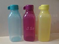 Эко бутылка 0.5л квадратной формы Tupperware
