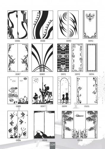 Шкафы купе под заказ, художественная обработка в матовый дизайн, Платон 409