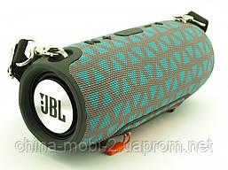 JBL Xtreme 13 small портативна колонка 40W з Bluetooth FM MP3 копія, сіра з блакитним, фото 3