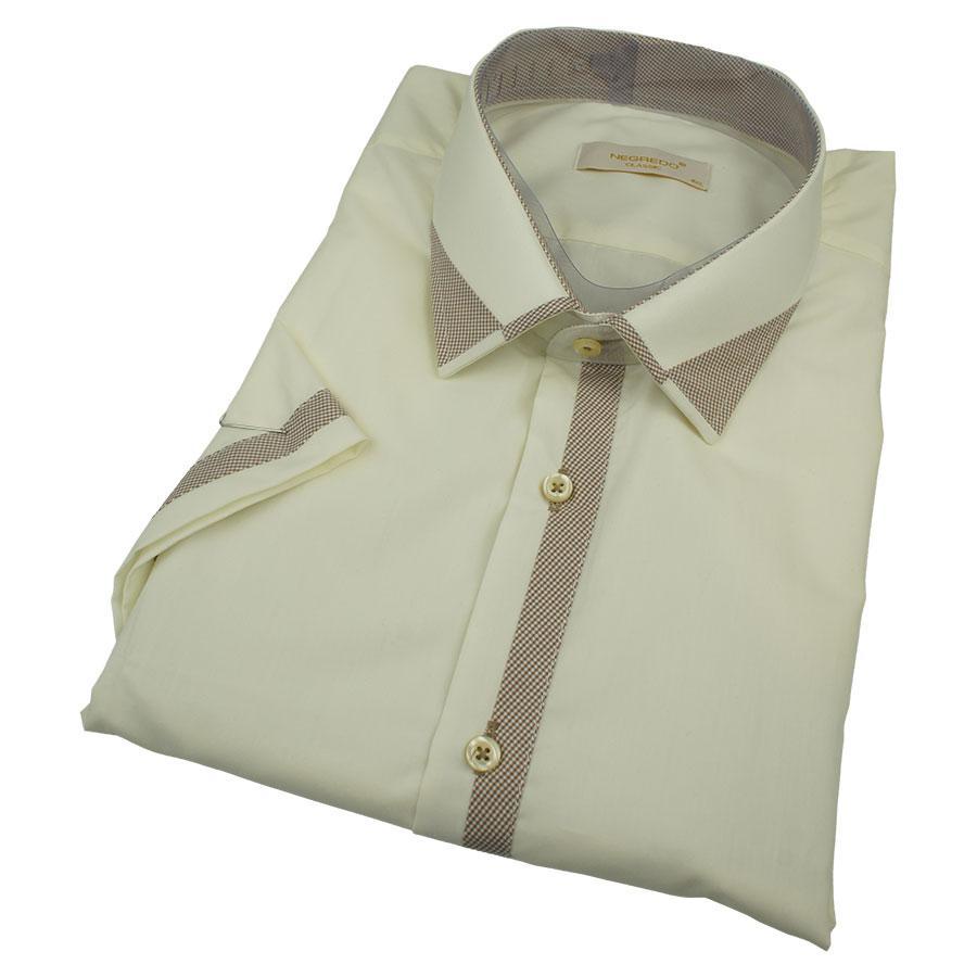 Чоловіча класична сорочка Negredo 0370 В Сlassic C розмір 4XL великого розміру