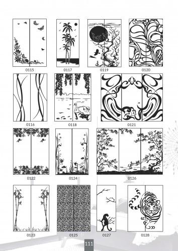 Шкафы купе под заказ, художественная обработка в матовый дизайн, Платон 411