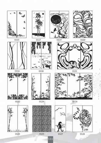 Шкафы купе под заказ, художественная обработка в матовый дизайн, Платон 411, фото 2