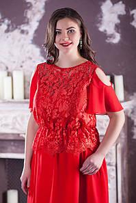 """Роскошное красивое платье """"Азита"""" большого размера"""