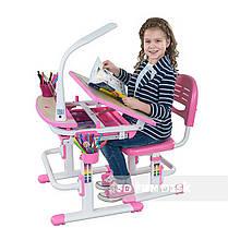 Дитяча парта зі стільчиком FunDesk Sorriso Pink, фото 3