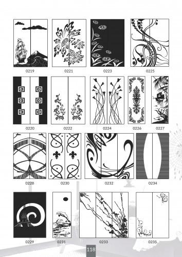 Шкафы купе под заказ, художественная обработка в матовый дизайн, Платон 418