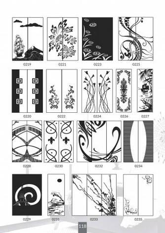 Шкафы купе под заказ, художественная обработка в матовый дизайн, Платон 418, фото 2