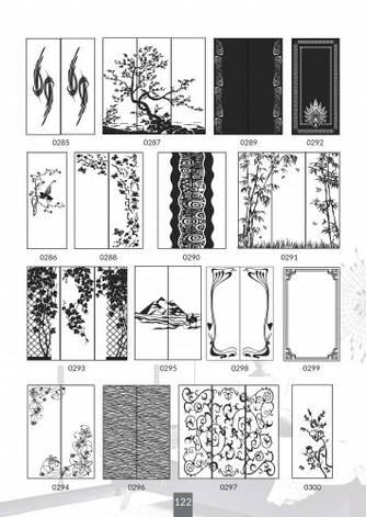 Шкафы купе под заказ, художественная обработка в матовый дизайн, Платон 422, фото 2
