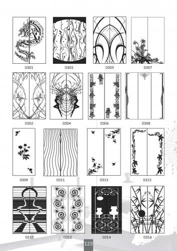 Шкафы купе под заказ, художественная обработка в матовый дизайн, Платон 423