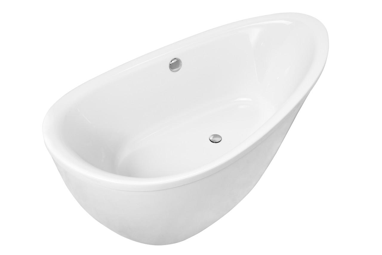 Ванна отдельно стоящая 1800*910*685мм, акриловая, с сифоном
