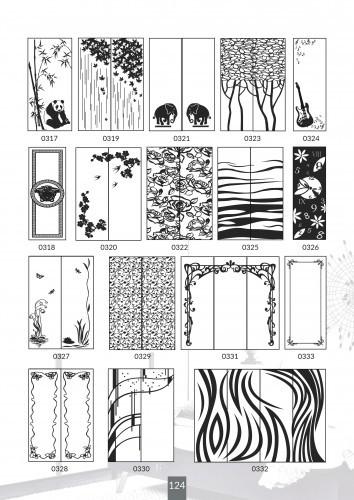 Шкафы купе под заказ, художественная обработка в матовый дизайн, Платон 424