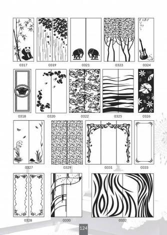 Шкафы купе под заказ, художественная обработка в матовый дизайн, Платон 424, фото 2