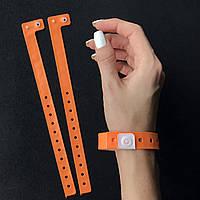 Виниловый браслет L - тип 16 мм Orange