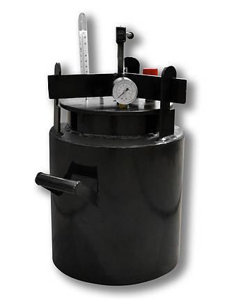 Недорогой автоклав бытовой Че16 (черная сталь / 16 банок 0,5), фото 2
