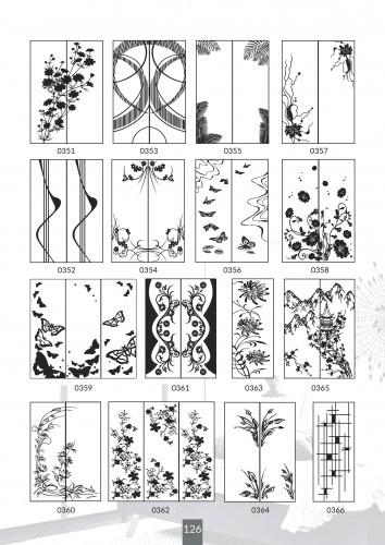 Шкафы купе под заказ, художественная обработка в матовый дизайн, Платон 426