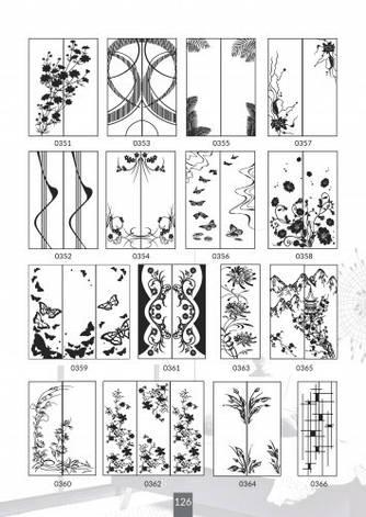 Шкафы купе под заказ, художественная обработка в матовый дизайн, Платон 426, фото 2