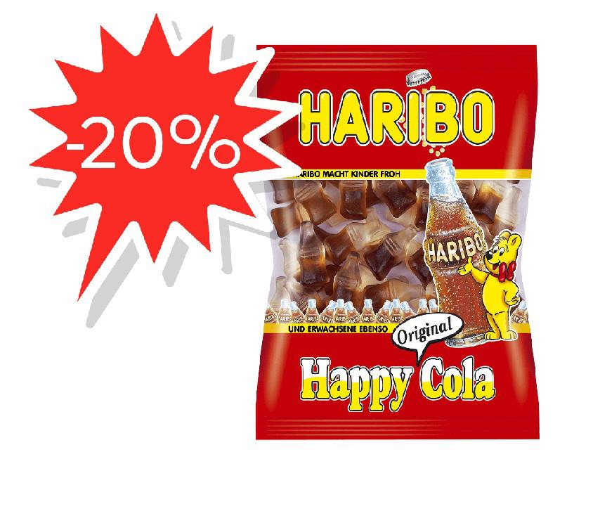 Цукерки жувальні Haribo 100г Весела Кола