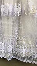 Красивая фатиновая тюль остаток 4,5м, фото 2