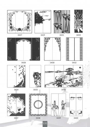 Шкафы купе под заказ, художественная обработка в матовый дизайн, Платон 431