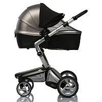 Двойной солнцезащитный козырек для коляски 2 в 1 с черной москитной сеткой / козырек от солнца Must Have Shade