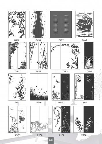 Шкафы купе под заказ, художественная обработка в матовый дизайн, Платон 433