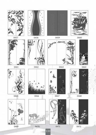 Шкафы купе под заказ, художественная обработка в матовый дизайн, Платон 433, фото 2