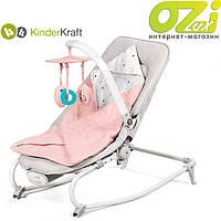 Кресло-качалка 2в1 FELIO марки Kinderkraft (розовое), фото 1