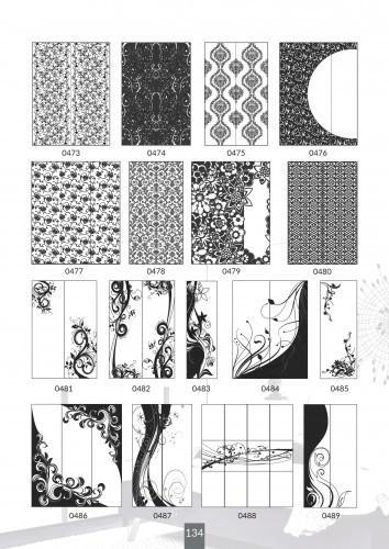 Шкафы купе под заказ, художественная обработка в матовый дизайн, Платон 434