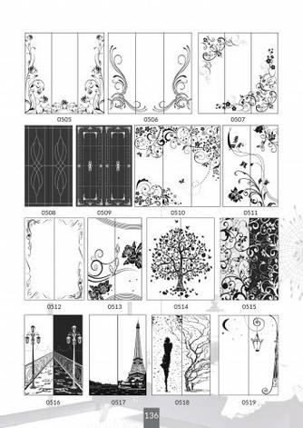 Шкафы купе под заказ, художественная обработка в матовый дизайн, Платон 436, фото 2