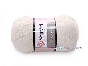 YarnArt Cotton Soft,  Крем