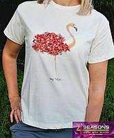Женская трикотажная футболка 3D