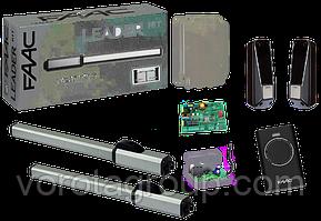 Автоматика гідравлічна FAAC 400 SB для стулки до 4 м для розпашних воріт (комплект)