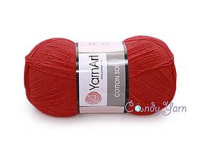 YarnArt Cotton Soft, Томат