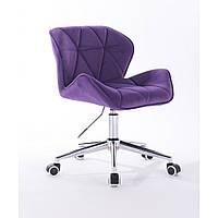 Кресло HR111K фиолетовый велюр, фото 1