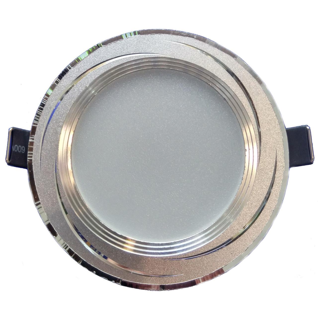 Led точечный потолочный светильник 5W 4500K круг Lemanso