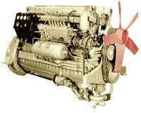 Дизельный двигатель серии Д6