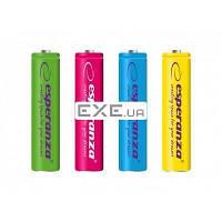 Аккумулятор Esperanza AAA 1000mAh NiMh 4шт (EZA107)