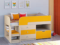 Кровать чердак Микки