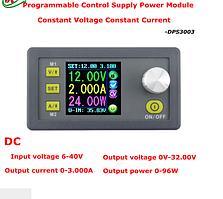 Понижающий преобразователь напряжения DPS3003 30V 3 A; 96 Вт