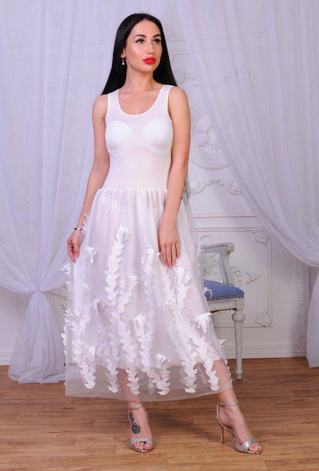 Стильное платье  . (739)
