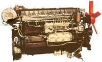 Дизельный двигатель серии У1Д6