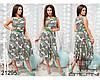 Летнее платье без рукавов купить недорого в интернет магазине Украина  р.48-54, фото 4
