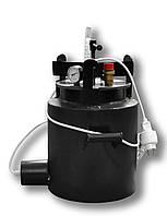 Автоклав маленький бытовой с терморегулятором Че8 электрический / газовый (черная сталь / 8 банок 0,5)