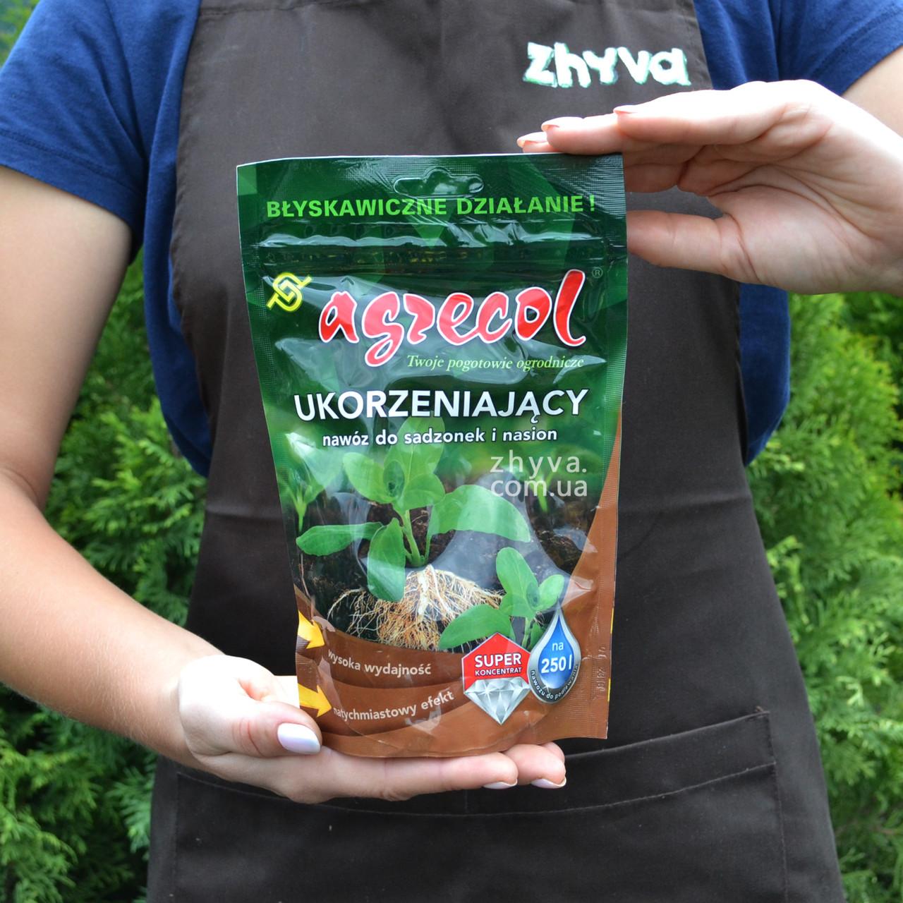 Добриво Agrecol для укорінення насіння та розсади 250г