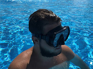 Маски очки трубки для плавания