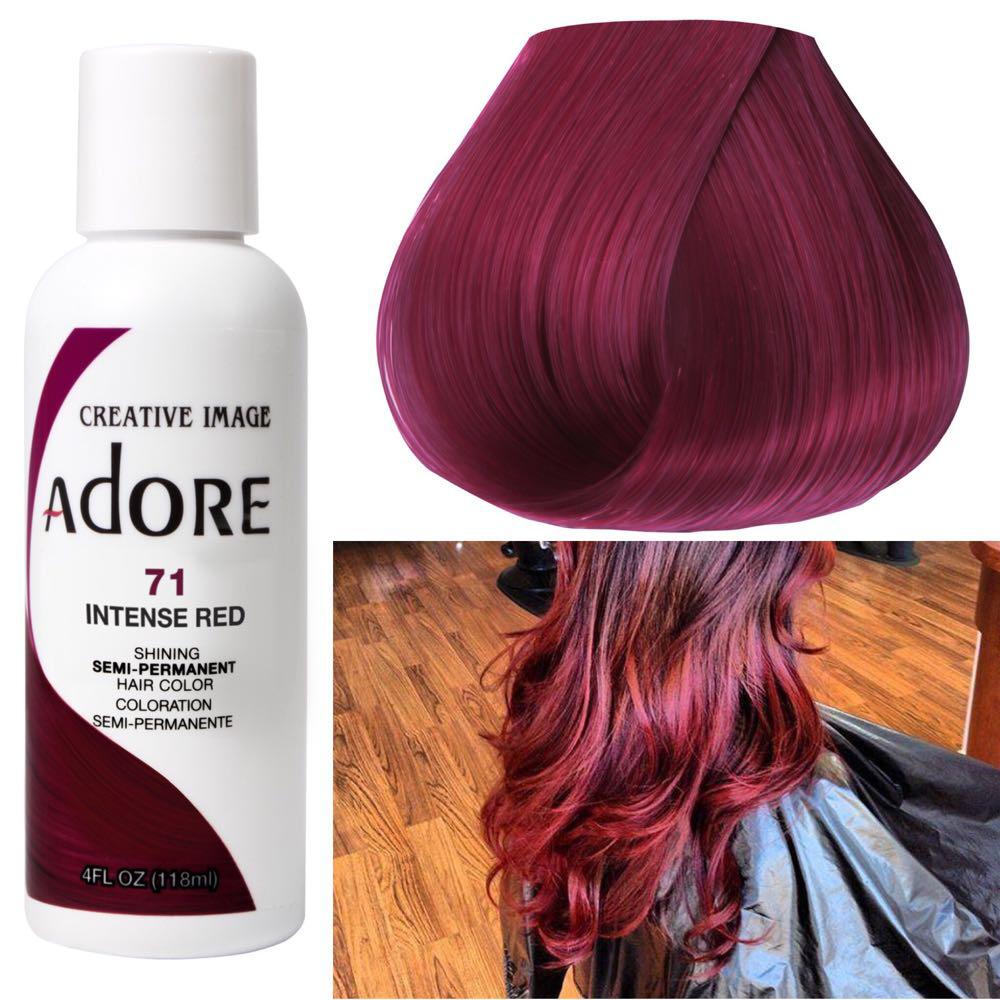 Adore Hair Color Intense Red Baik Hair Styles