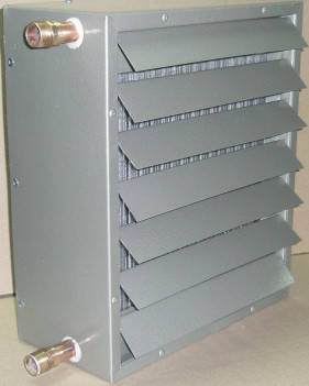Тепловентилятор водяной Атом 40 кВт (1 шт), фото 2